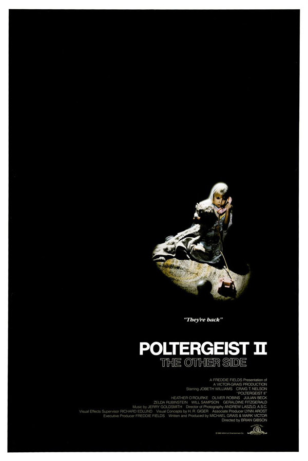 Us poster from the movie Poltergeist II: The Other Side