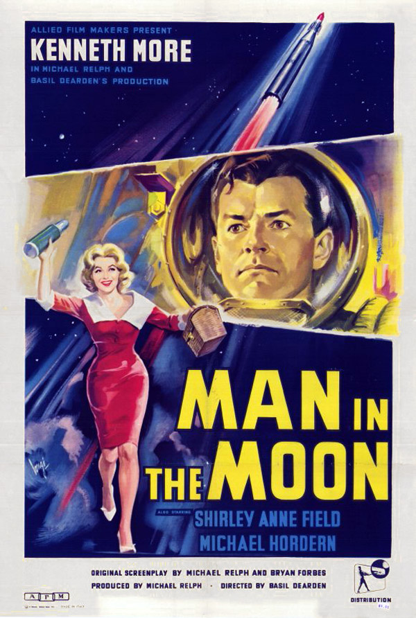 British poster from the movie Man in the Moon