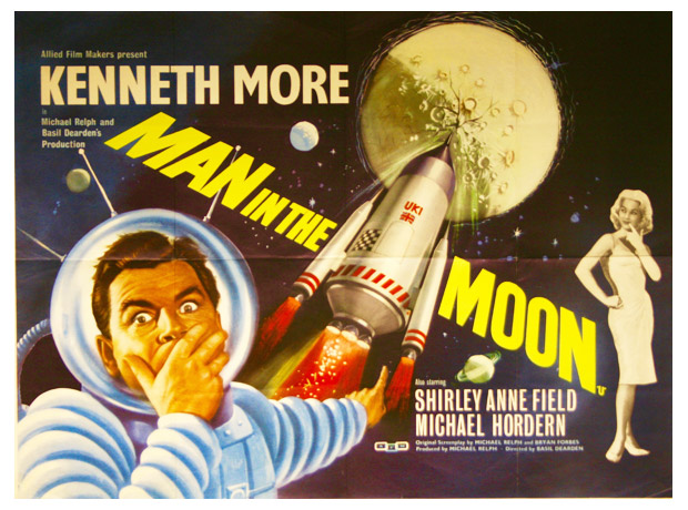 Affiche britannique de 'Man in the Moon'