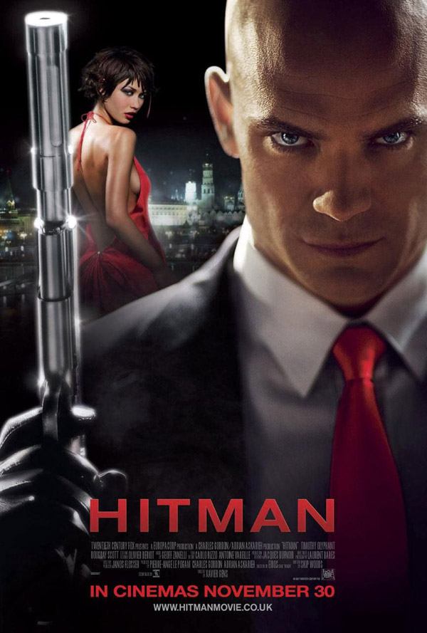British poster from the movie Hitman
