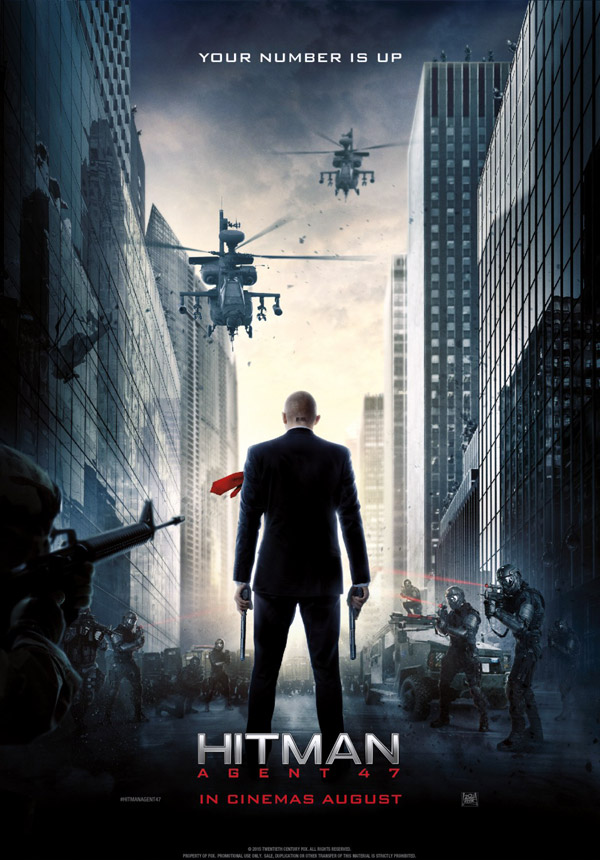 Us poster from the movie Hitman: Agent 47