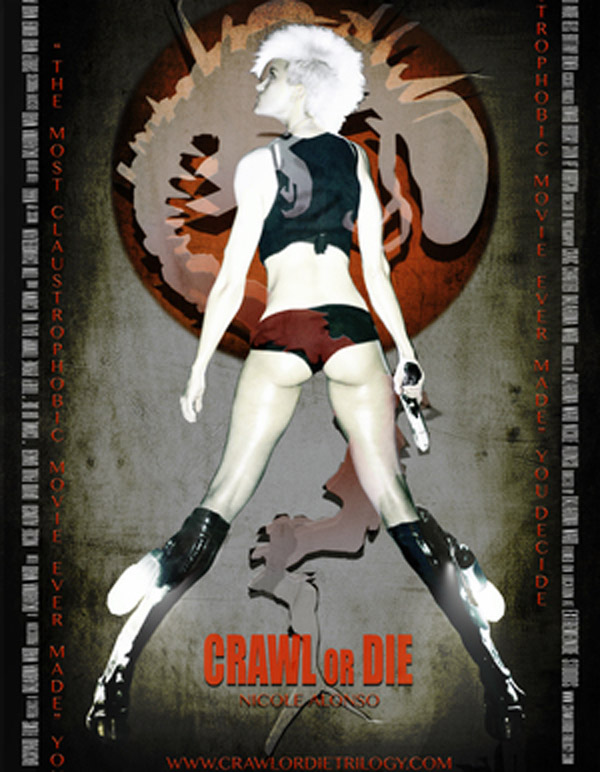 Affiche américaine de 'Crawl or Die'