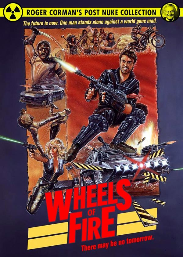 Us artwork from the movie Wheels of Fire