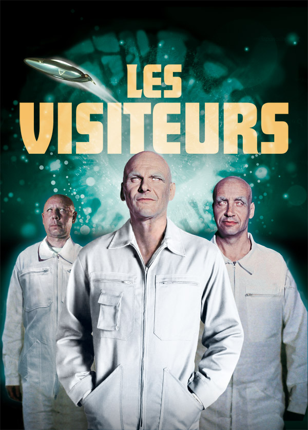 French artwork from the series The Visitors (Les visiteurs)