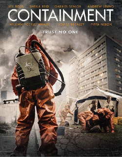 British poster from the movie Containment