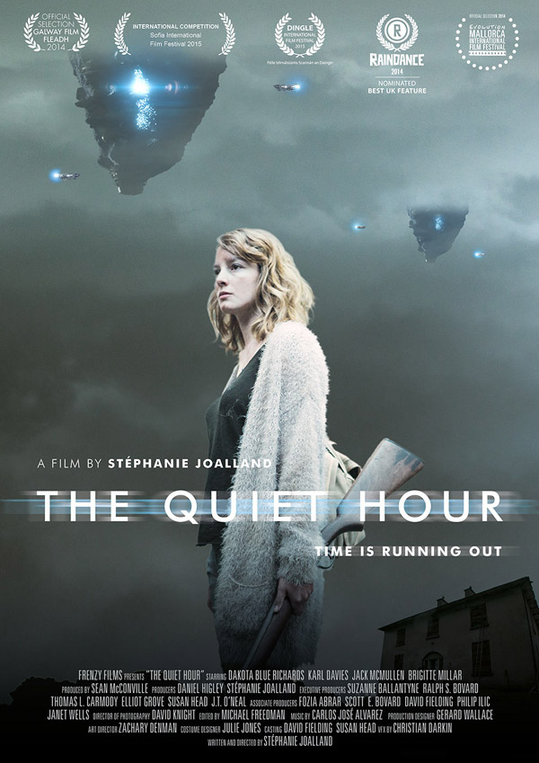 British poster from the movie The Quiet Hour