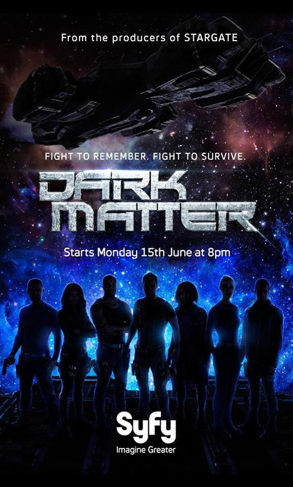 Us poster from the series Dark Matter