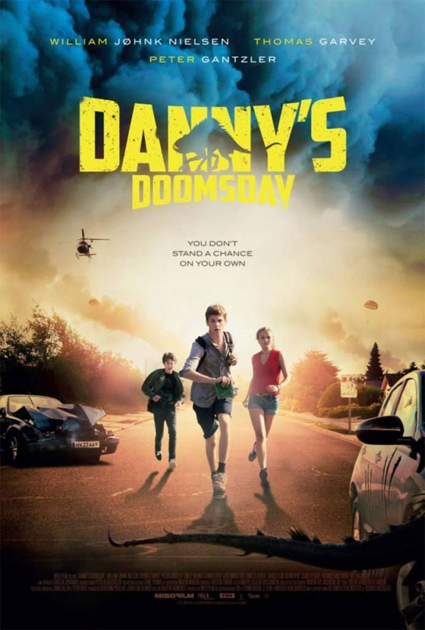 International poster from the movie Danny's Doomsday (Dannys dommedag)