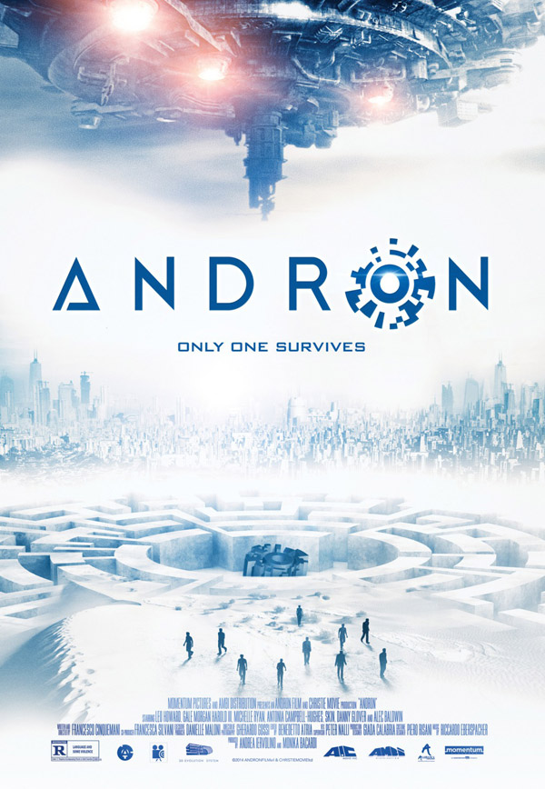 Us poster from the movie Andron (Andròn - The Black Labyrinth)
