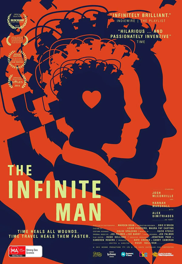Australian poster from the movie The Infinite Man