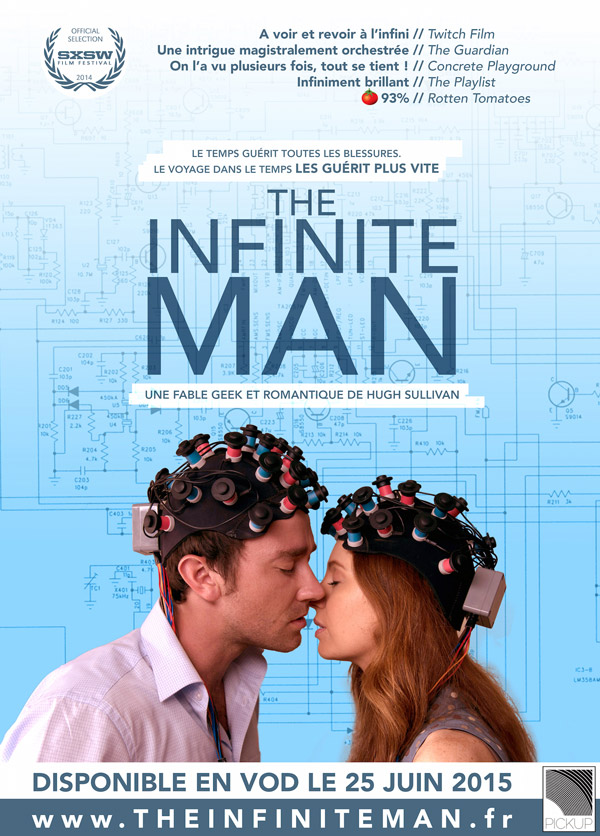 Affiche française de 'The Infinite Man'