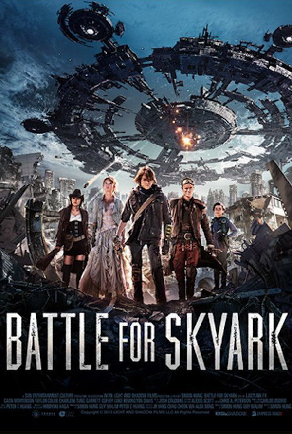 Unknown poster from the movie Battle for Skyark