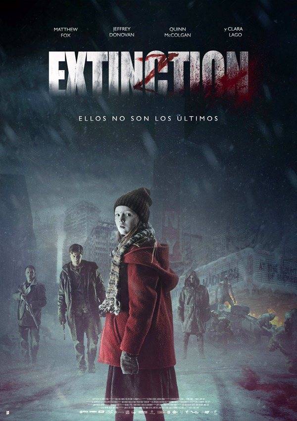 Spanish poster from the movie Extinction