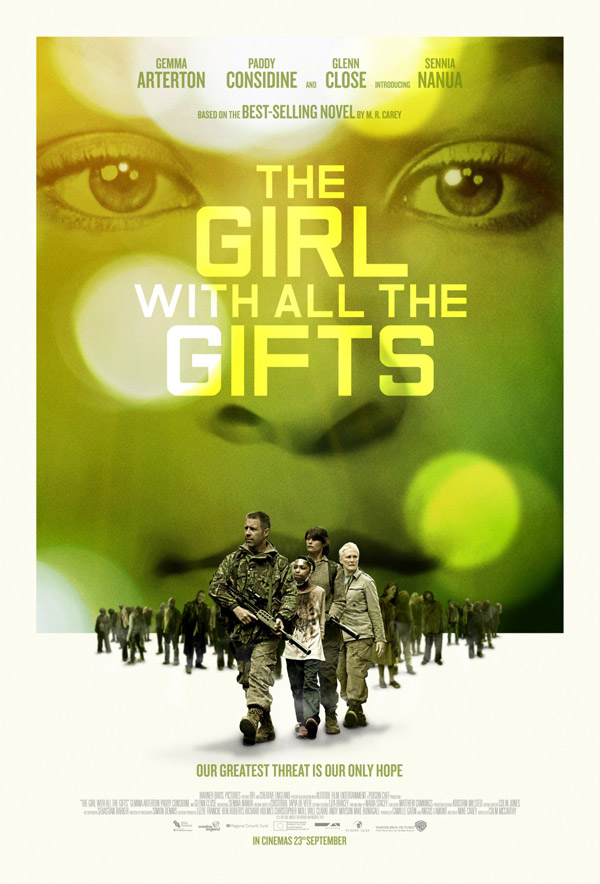 British poster from 'The Girl with All the Gifts'