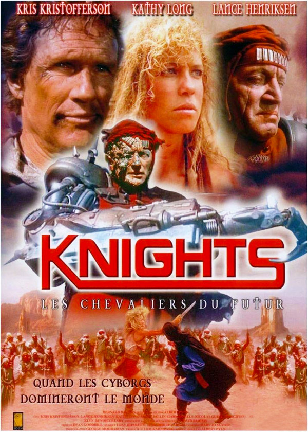 French poster from the movie Knights