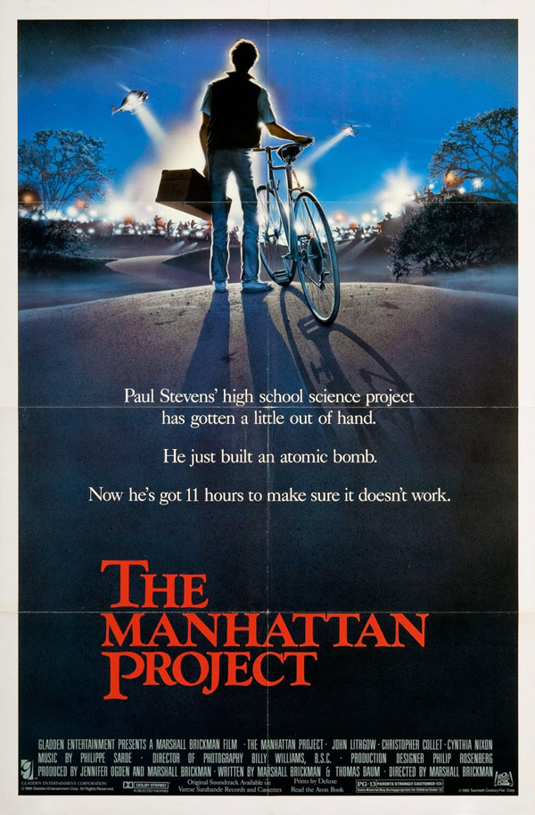 Us poster from the movie The Manhattan Project