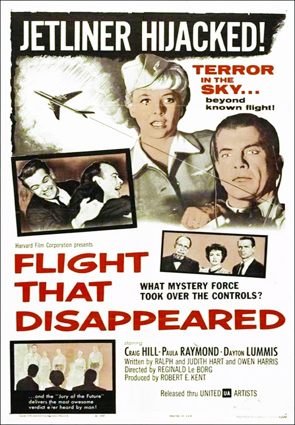 Affiche américaine de 'Flight That Disappeared'