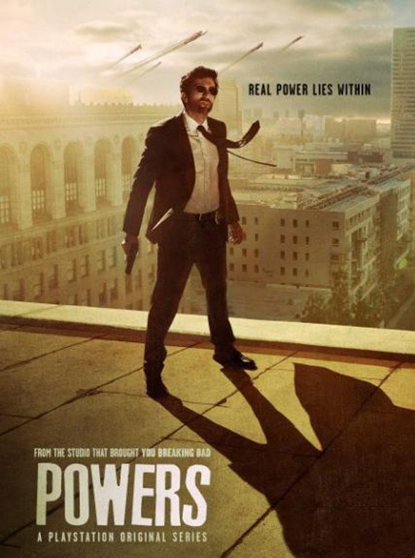 Us poster from the series Powers