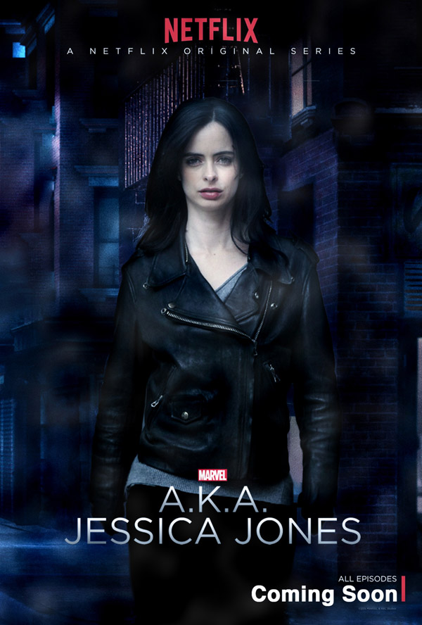 Us poster from the series Jessica Jones