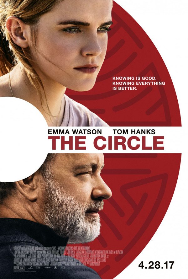 Us poster from the movie The Circle