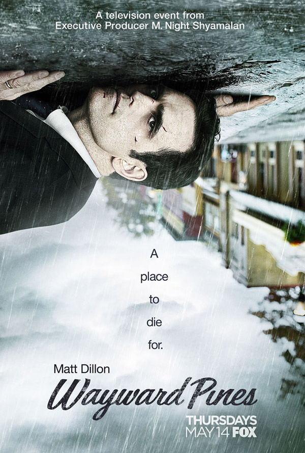 Us poster from the series Wayward Pines