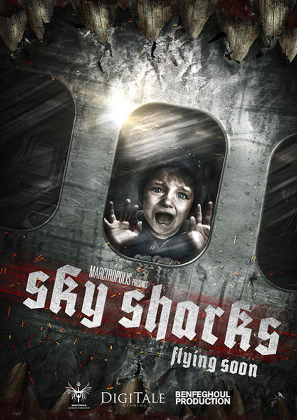 Unknown poster from the movie Sky Sharks