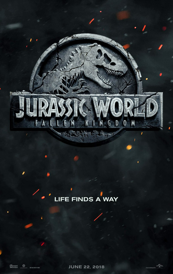 Us poster from the movie Jurassic World: Fallen Kingdom