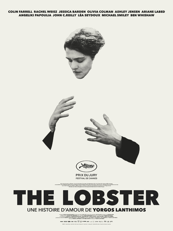 Affiche française de 'The Lobster'