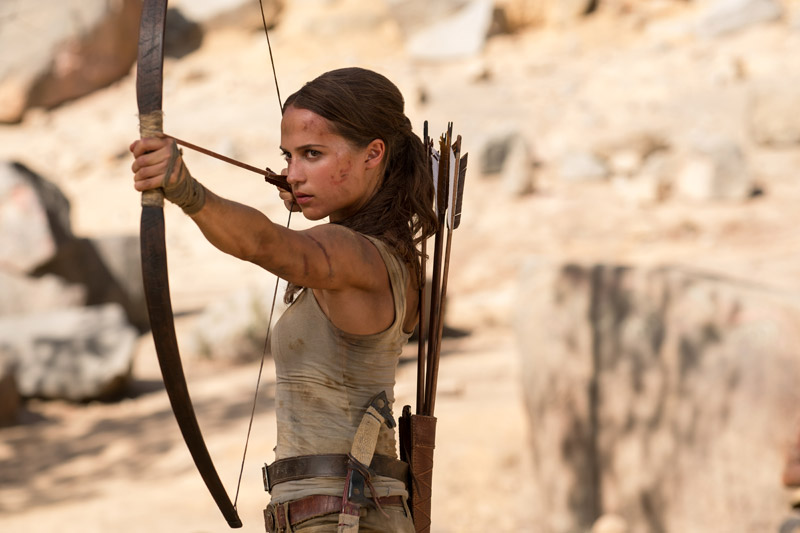 Photo de 'Tomb Raider' - ©2018 Warner Bros. Photo Credit: Ilze Kitshoff - Tomb Raider (Tomb Raider) - cliquez sur la photo pour la fermer