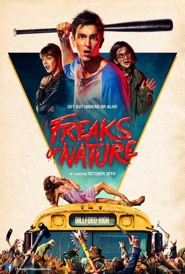 Us poster from the movie Freaks of Nature