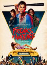 Movie poster from Freaks of Nature, in theaters on October 30, 2015