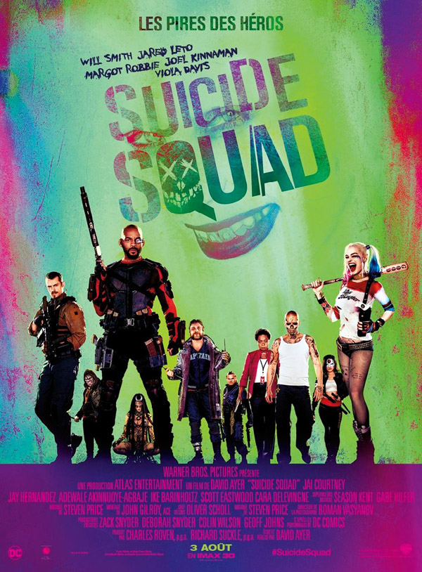 French poster from 'Suicide Squad'