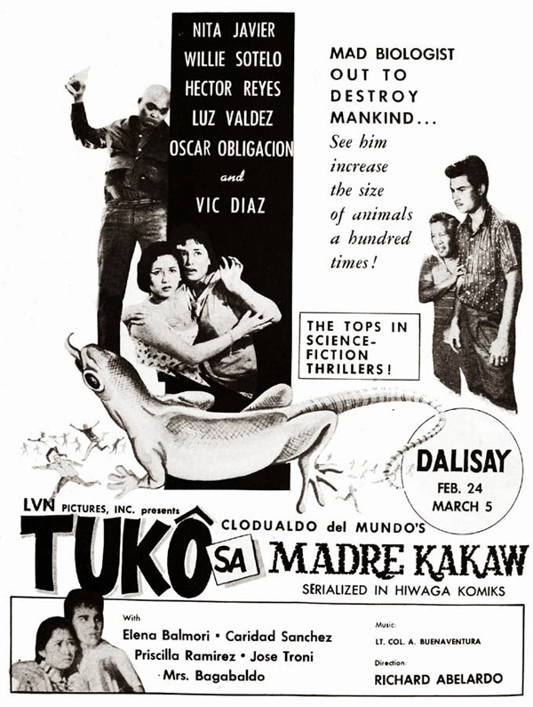 Unknown poster from the movie Tuko sa Madre Kakaw
