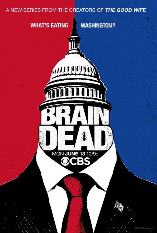 Us poster from the series BrainDead