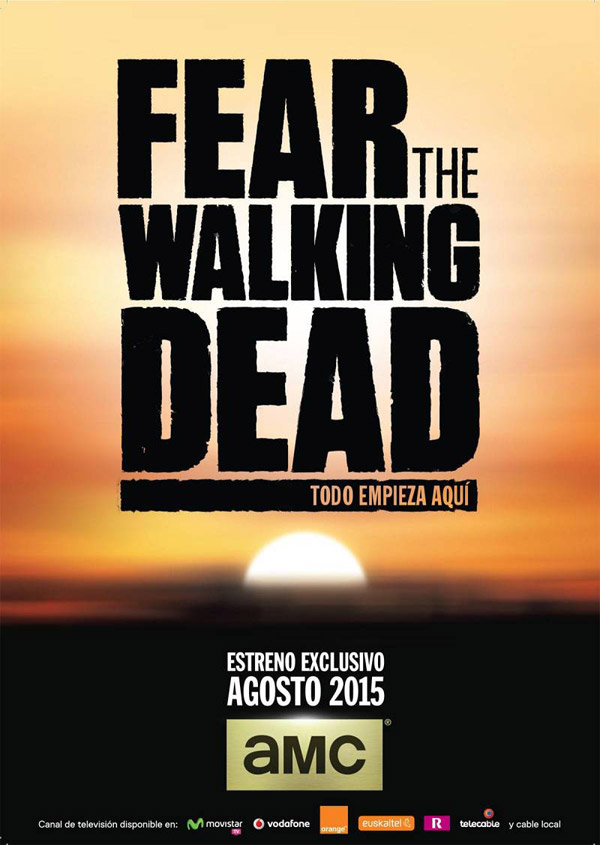 Affiche inconnue de 'Fear the Walking Dead'