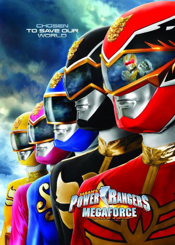 Us poster from the series Power Rangers Megaforce