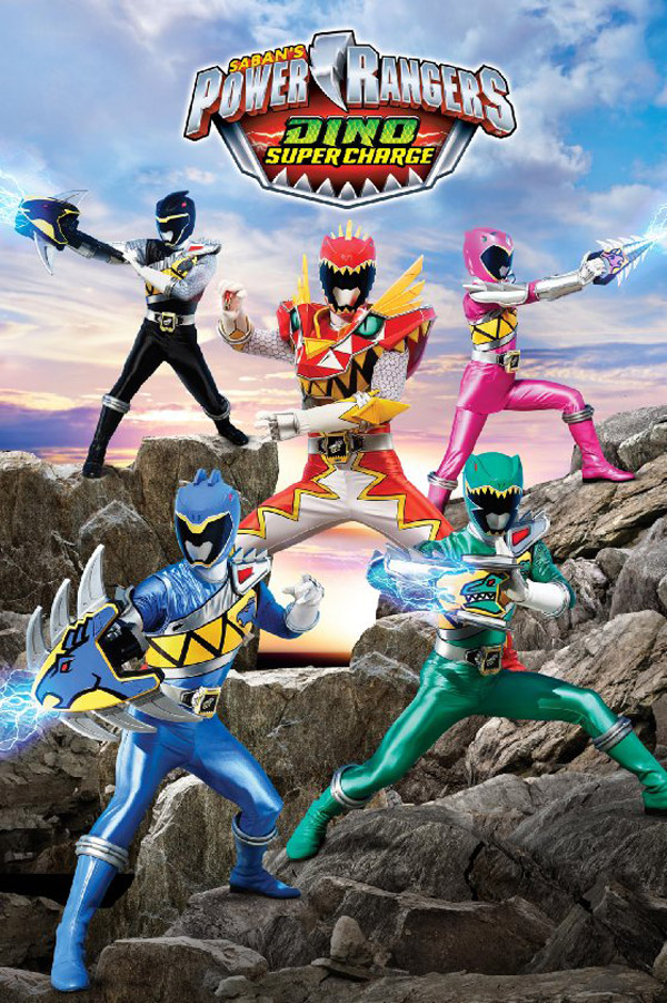 Us poster from the series Power Rangers Dino Charge