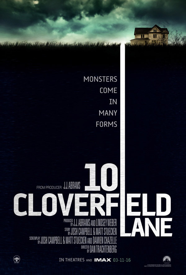 Us poster from the movie 10 Cloverfield Lane