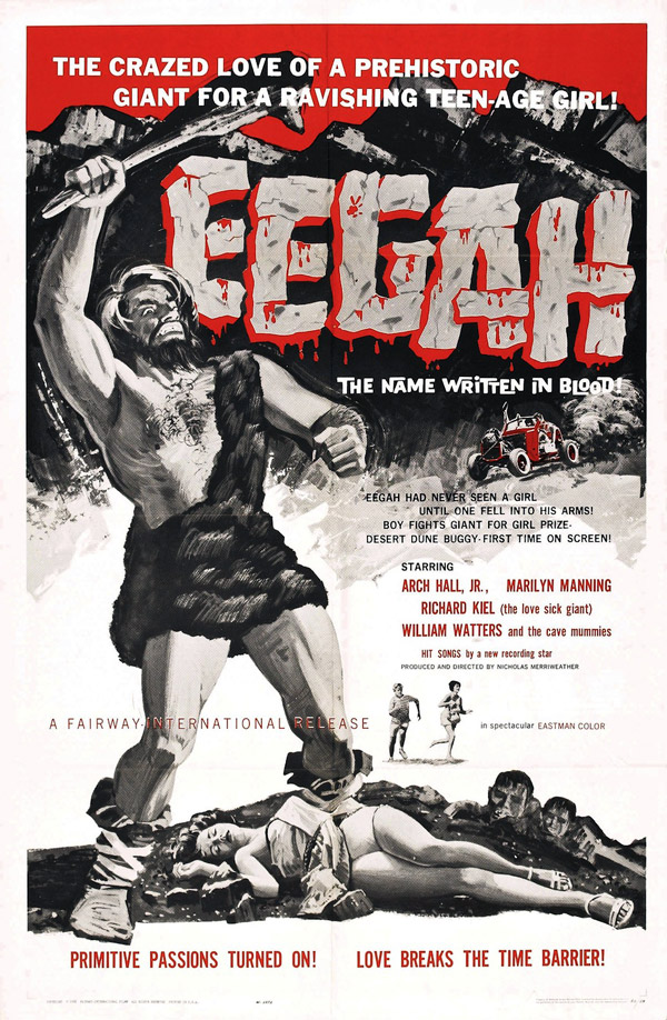 Us poster from the movie Eegah