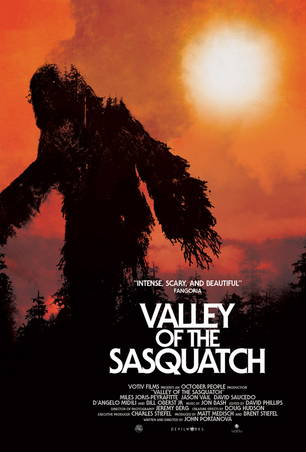 Us poster from the movie Valley of the Sasquatch