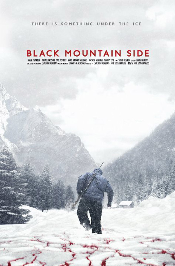Affiche américaine de 'Black Mountain Side'