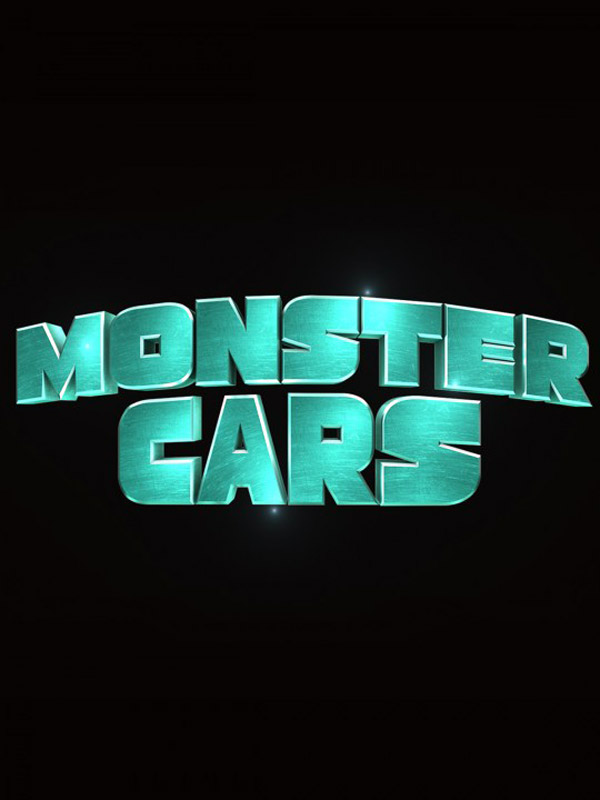 Affiche française de 'Monster Cars'