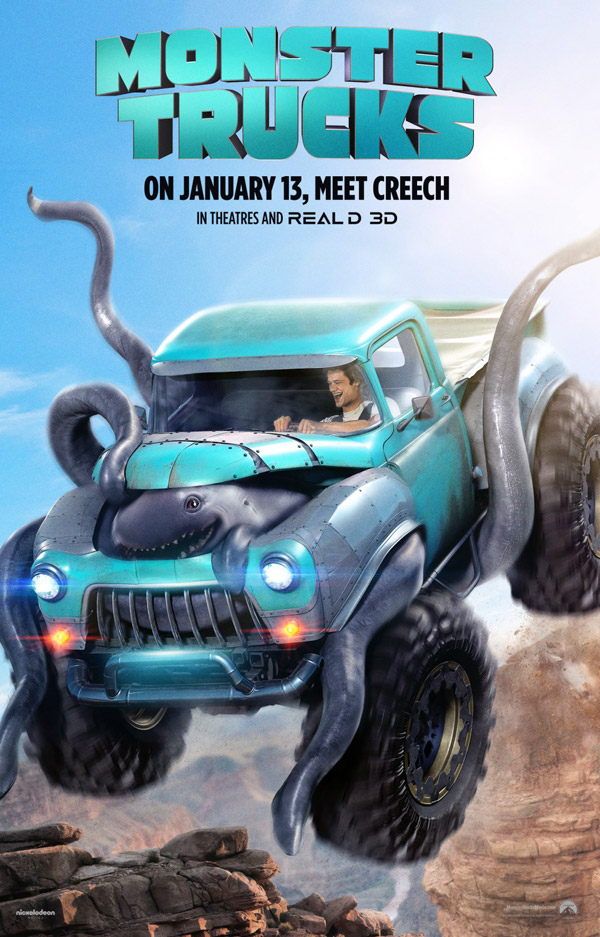 Us poster from the movie Monster Trucks