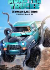 Movie poster from Monster Trucks, in theaters on January 13, 2017