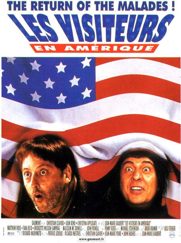 Unknown poster from the movie Just Visiting (Les visiteurs en Amérique)