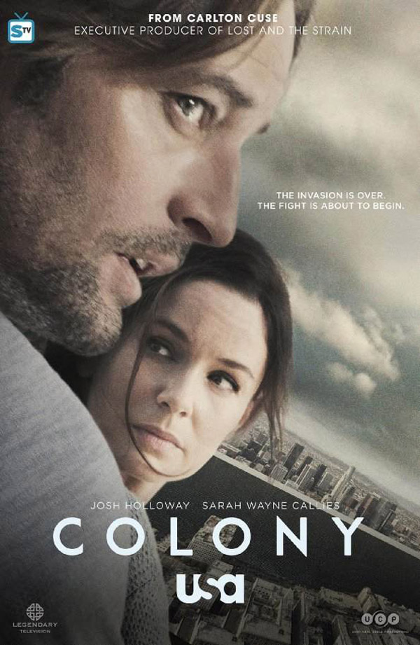 Us poster from the series Colony