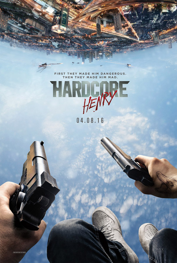 Us poster from the movie Hardcore Henry