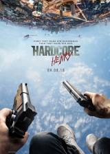 Movie poster from Hardcore Henry, in theaters on April 08, 2016