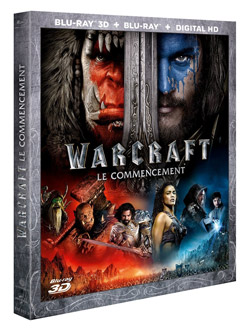 Warcraft : le commencement [Combo Blu-ray 3D + Blu-ray]