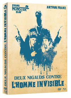 Deux nigauds contre l'homme invisible [Combo Blu-ray + DVD]
